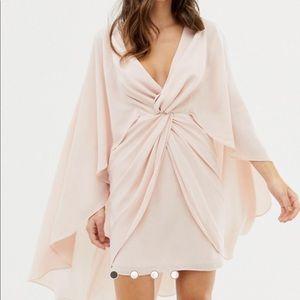 NWT ASOS cape dress